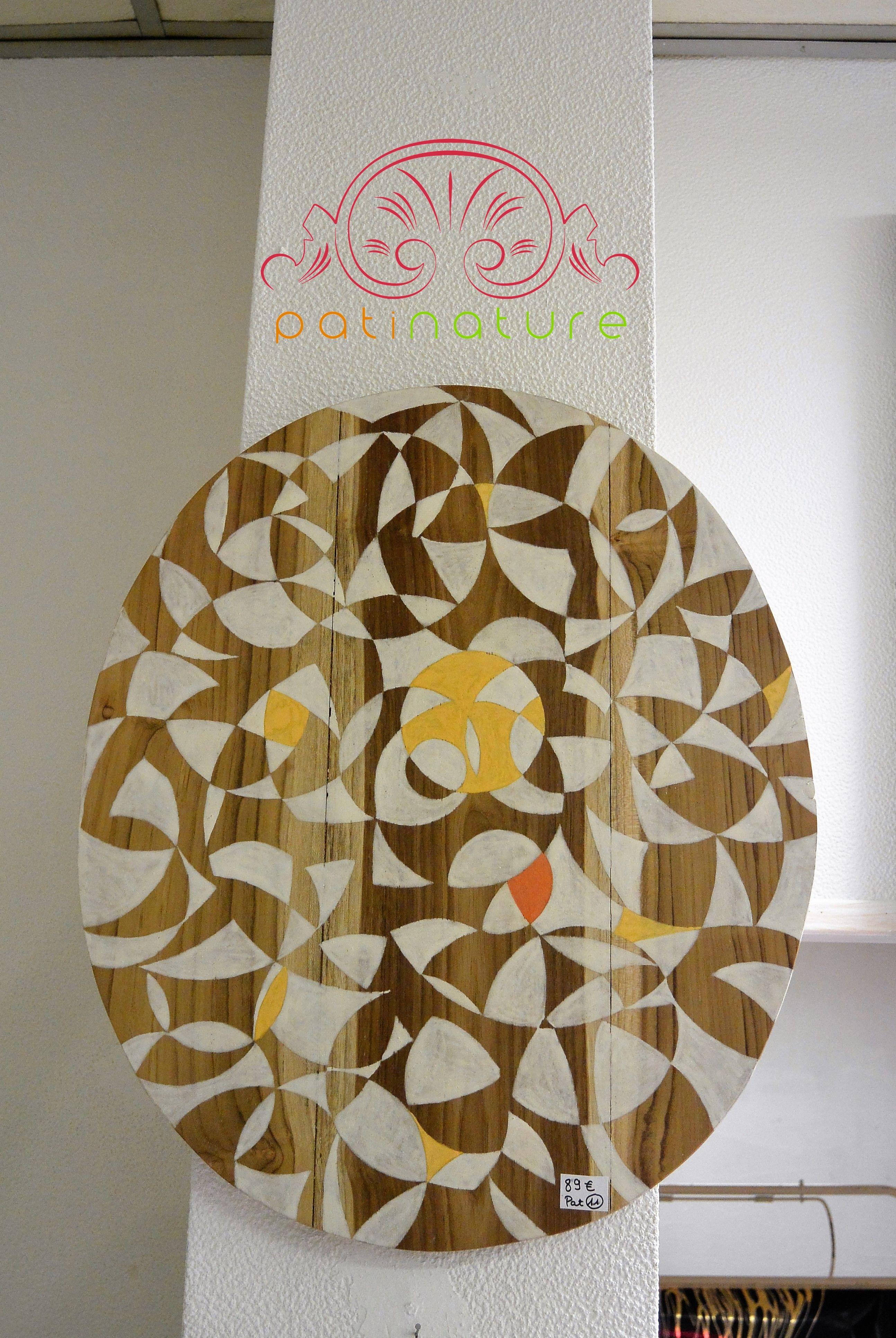 eclats de soleil peinture la cas ine sur d coupe de lavabo en teck meubles peints. Black Bedroom Furniture Sets. Home Design Ideas