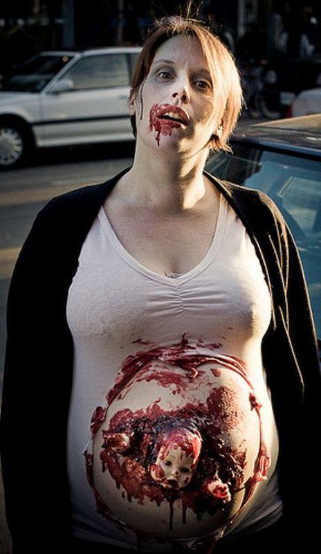 Festival Of The Dead صور رعب مجموعة من الصور المرعبة Pregnant Halloween Costumes Pregnant Halloween Zombie Costume