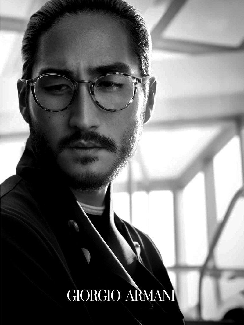 b9944b554be8c Giorgio Armani Eyewear  Frames of Life Spring Summer 2014 Campaign image Giorgio  Armani Eyewear 005