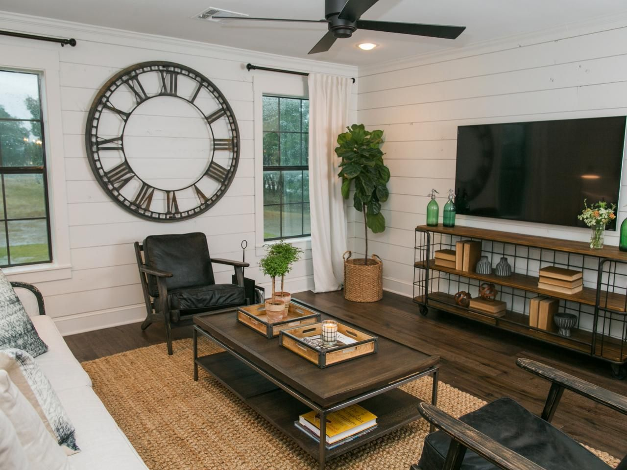 Fixer upper kitchen wall decor - Simple Open Design Walls Were Removed On The Second Floor To Create A Mixed Use Space That Incorporates Kitchen Dining And Living Areas Fixer Upper A Very