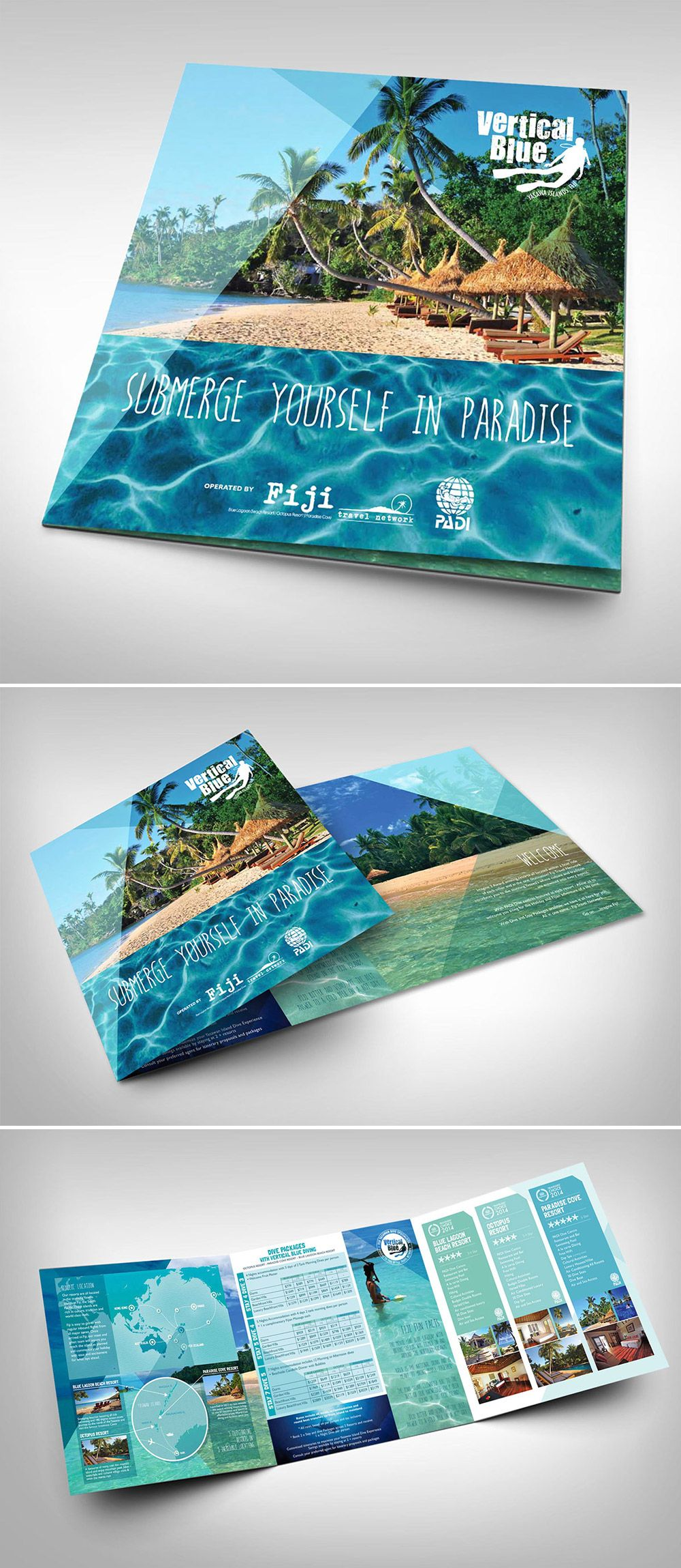 15 travel brochure examples with enticing designs brochure