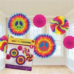 Feeling Groovy Hanging Fan Decoratons from Windy City Novelties