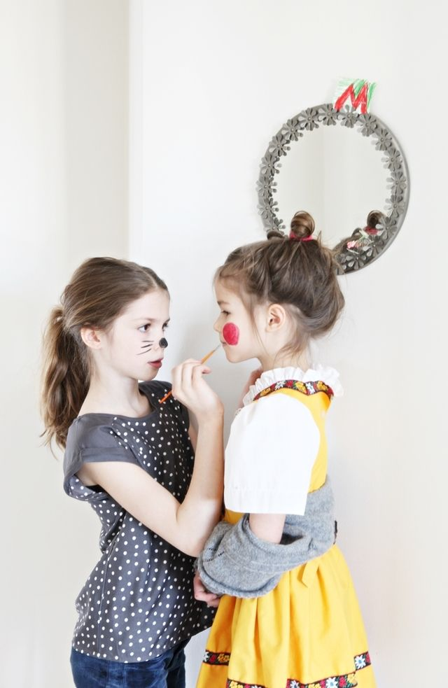 Doing Your Little Sisters Makeup For Recitals