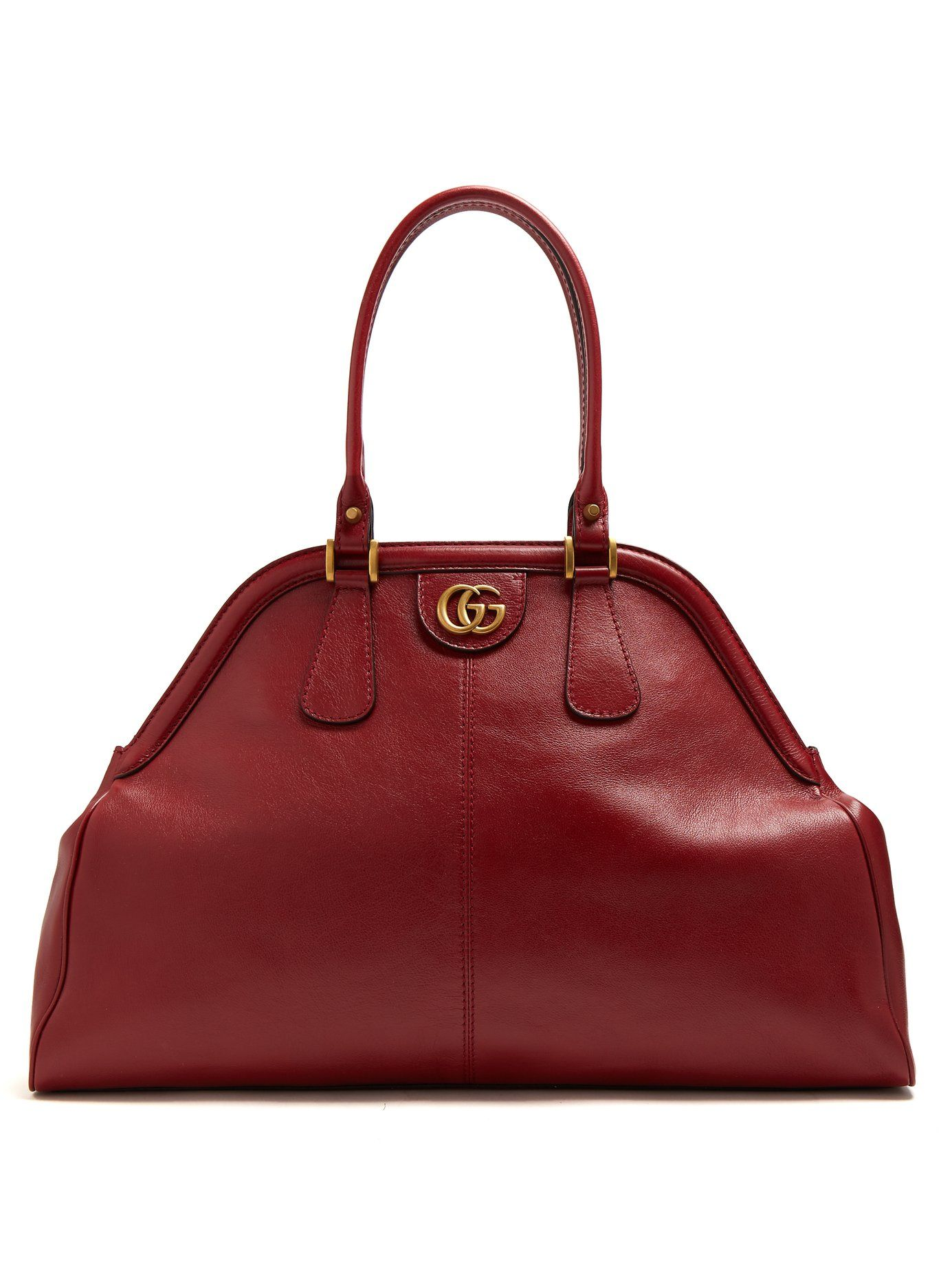 Re(Belle) large top handle leather tote Gucci hB0Ji1