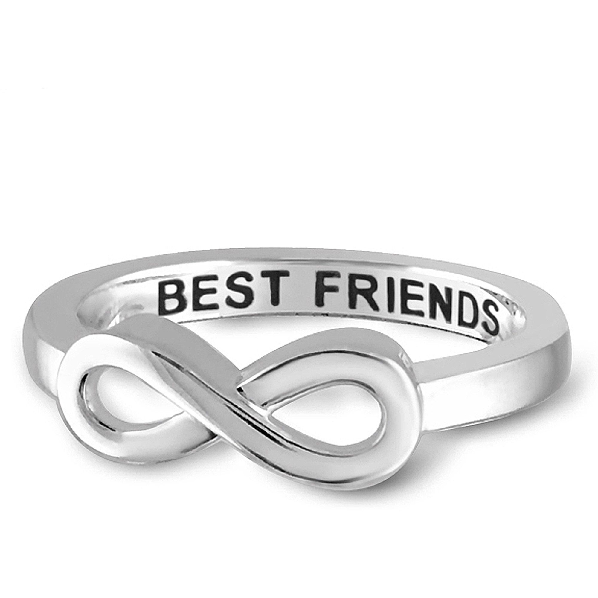 friendship cute best oblacoder three friends infinity rings ring friend set