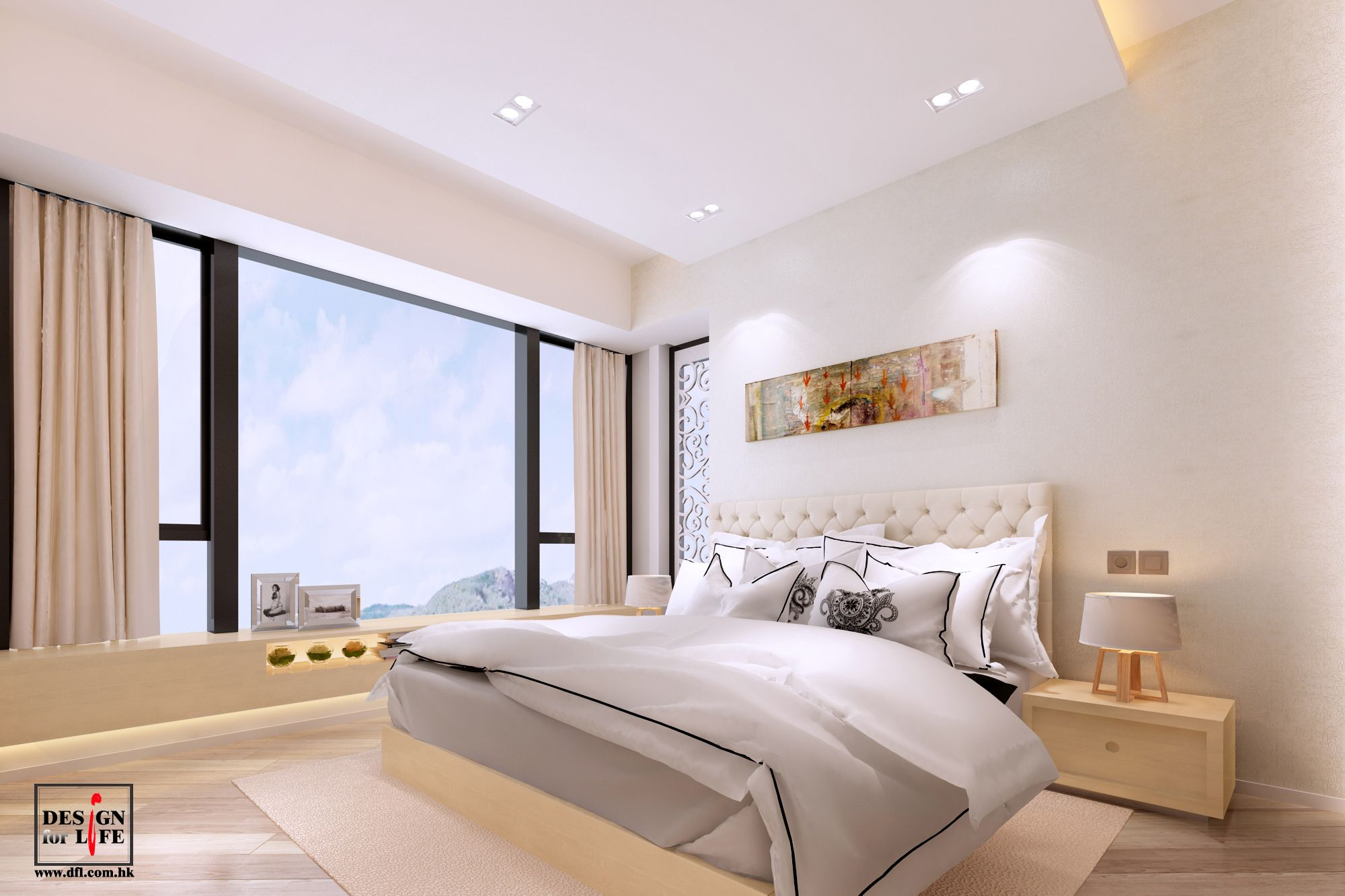 Project The Visionary Of Hong Kong 3d Rendering Master Bedroom Design Interior Design