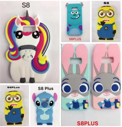 cover samsung s5 silicone unicorno