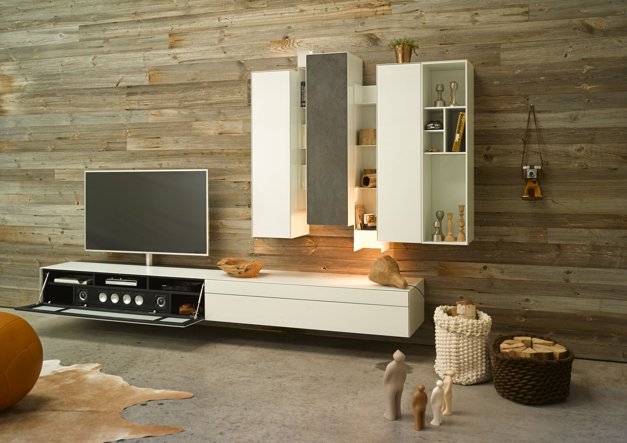 Fernsehmöbel Mit Soundsystem Soundsystem Wohnzimmer