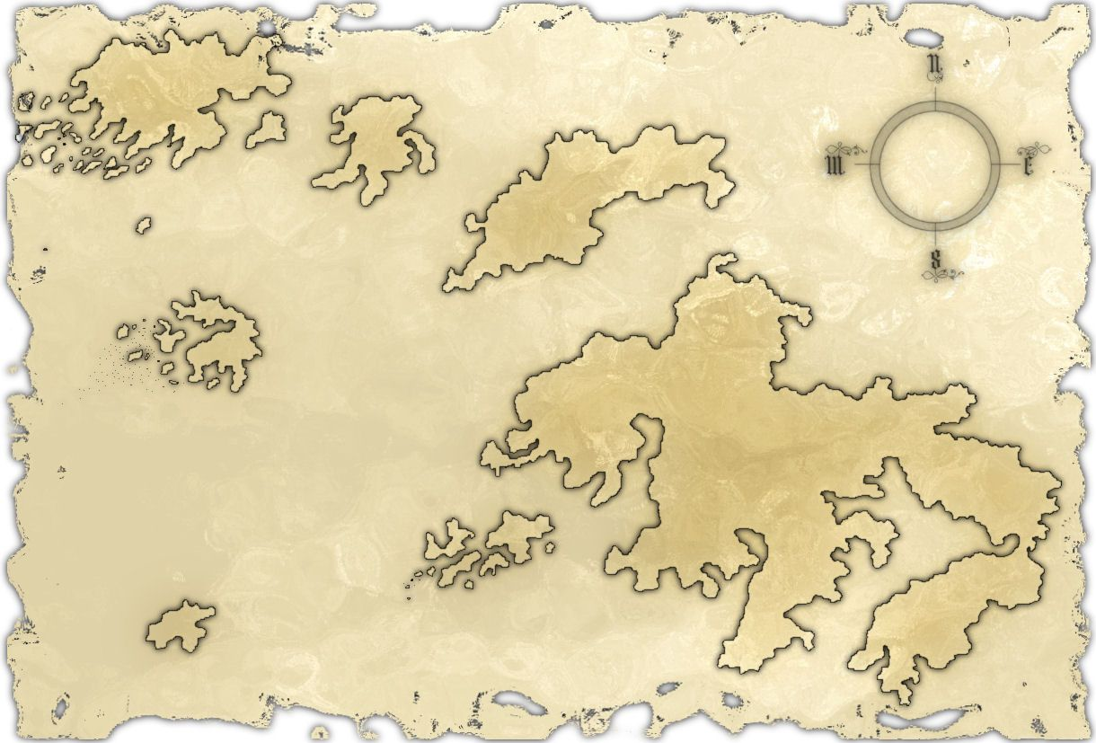 Blank Fantasy Map by Ragir on DeviantArt | Fantastic Stuff ...