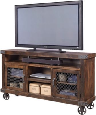 Aspen Industrial 65 Inch Tv Console Living Room Furniture