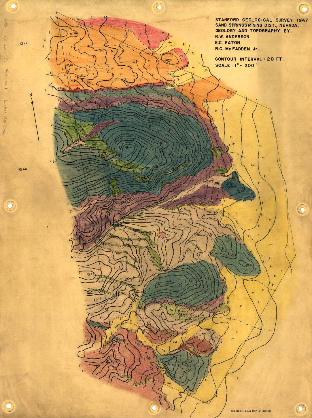 Stanford Geological Survey 1947 Stanford Geological Survey