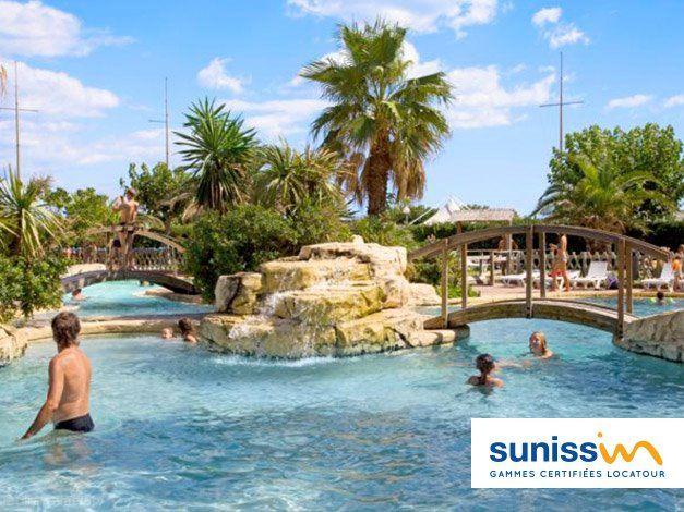Camping Sunissim Le Petit Mousse 3* à Vias Pinterest Mousse and - camping dordogne etoiles avec piscine