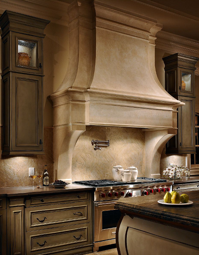 Wood Kitchen Range Hood Designs