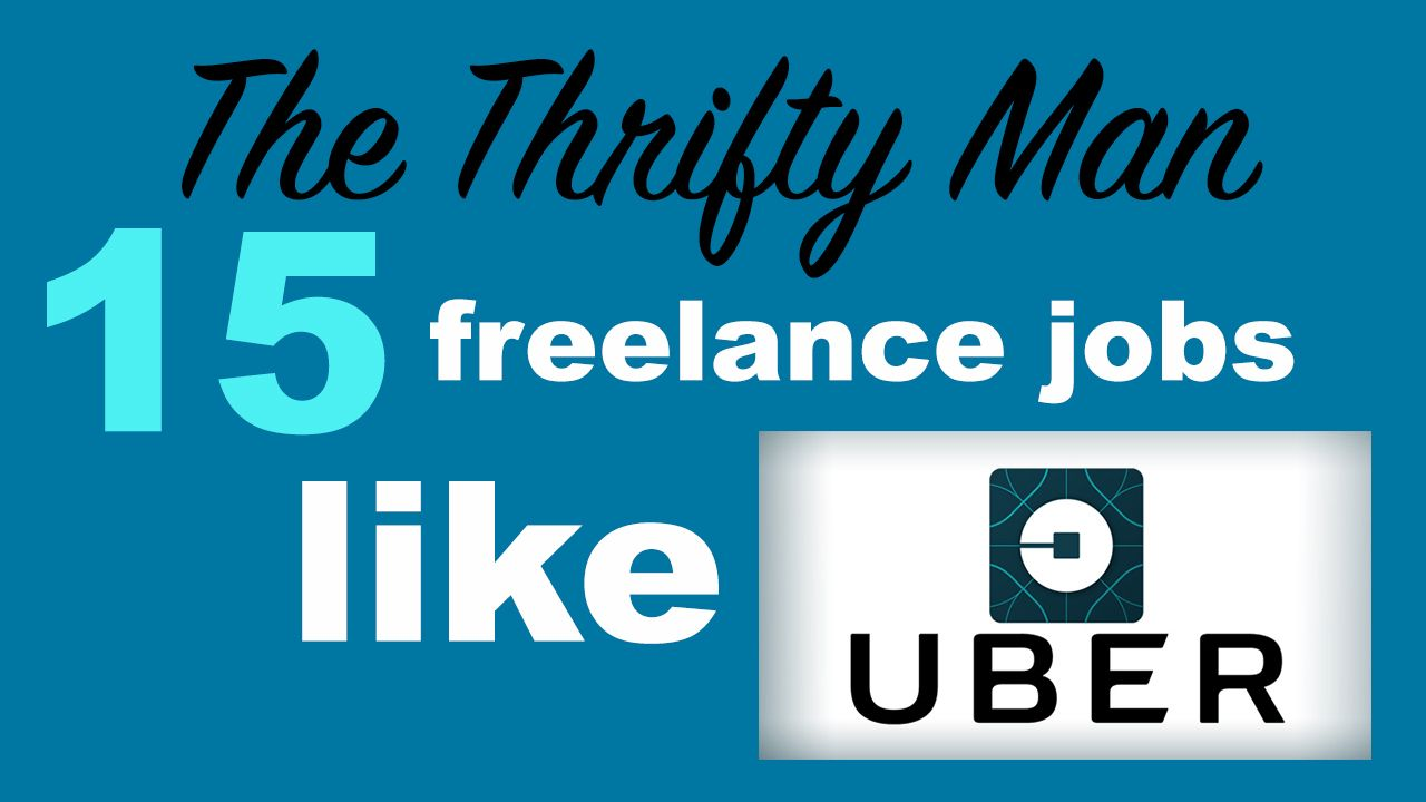 Side Gigs Like Uber Ways To Get Extra Money In Your Spare Time Freelancing Jobs Job Work Anytime