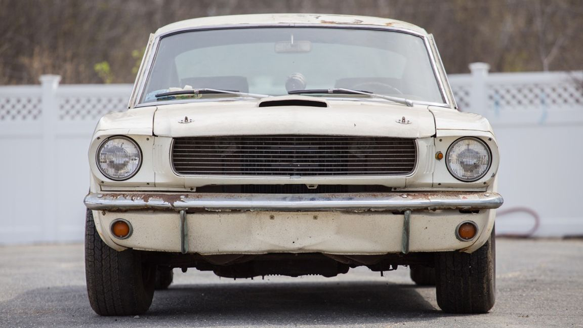 1966 Ford Mustang Shelby GT350 up for sale after 40 years in