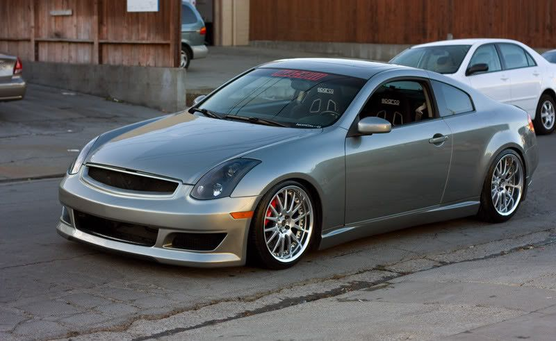 Infiniti G35 Coupe Front Bumper