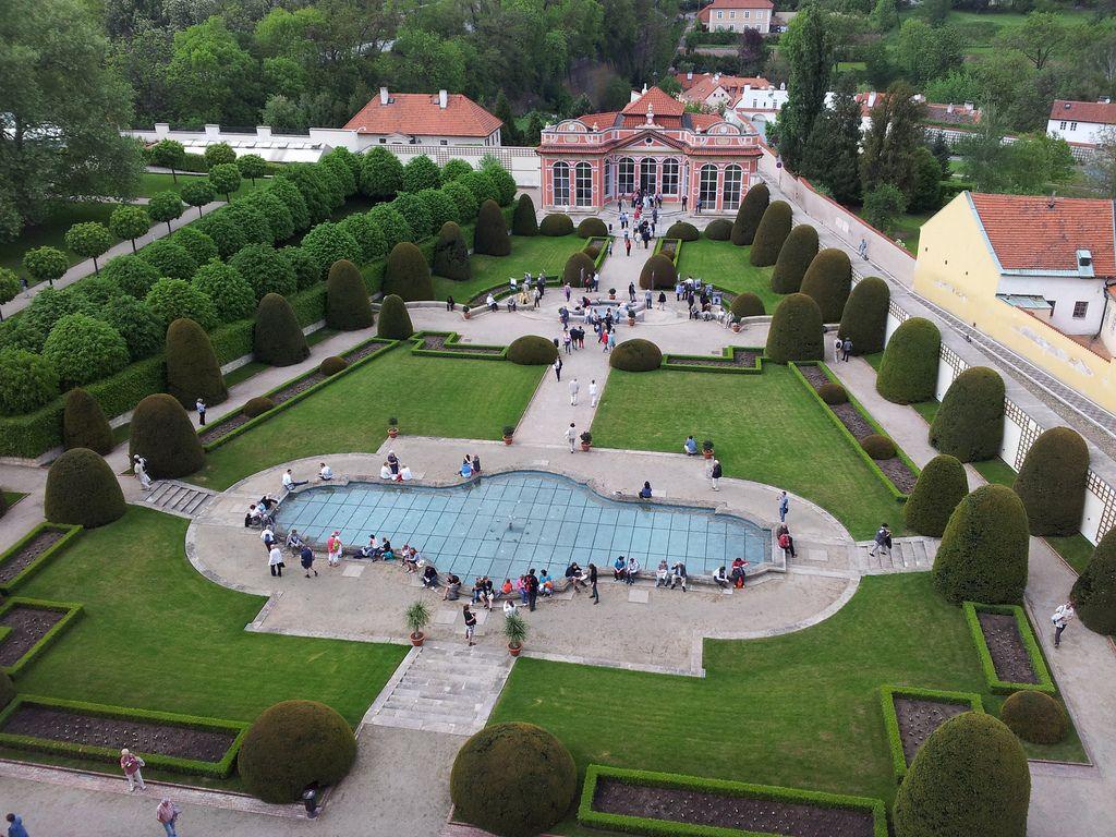 Černín palace - gardens