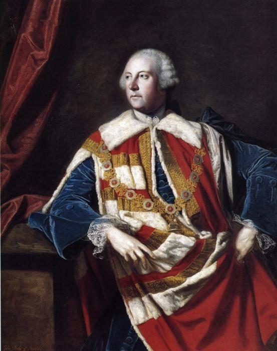 John Russell, 4th Duke of Bedford, K.G. (1710-1771).