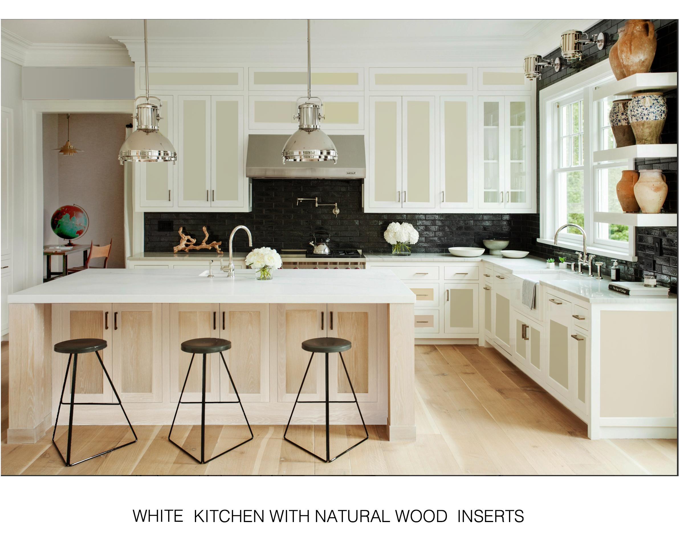 Improvement on the classic White Kitchen. A white kitchen ...