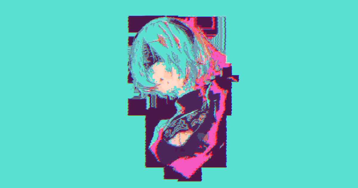 20 Anime Vaporwave Computer Wallpaper Free Download Green Haired Female Anime Character Download Aesthetic De Anime Vaporwave Wallpaper Computer Wallpaper