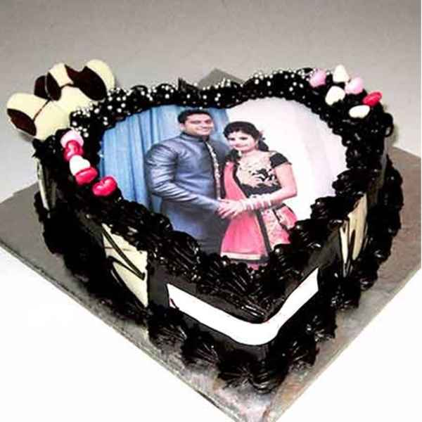 Anniversary Photo Print Cake From Cooper's Bakery in 2020