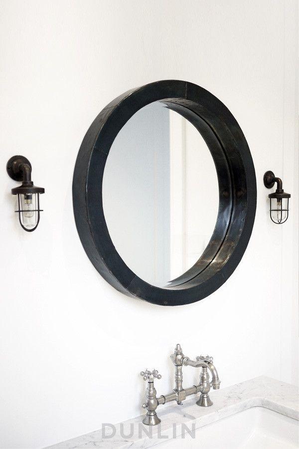 Hudson Iron Mirror Large