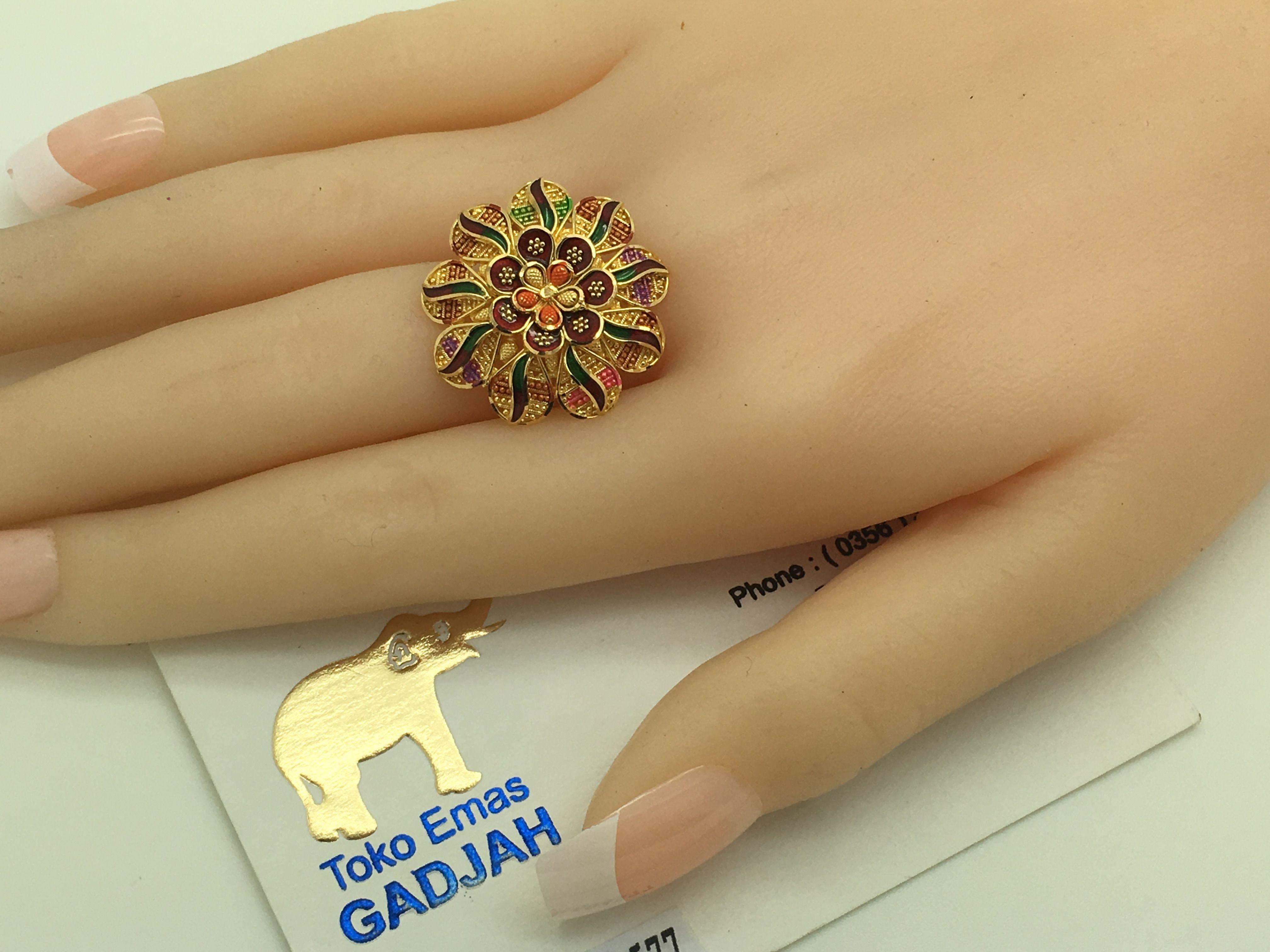 22k/91,6% Gold Import Dubai / India Matahari size adjustable 8,2gr ...