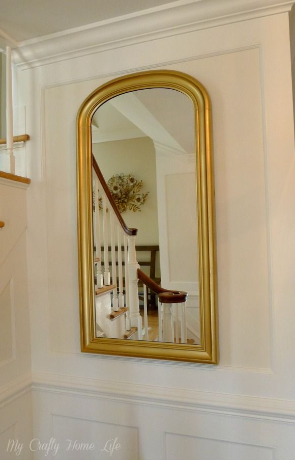 Mirror Makeover Spray Paint, Ikea Gold Mirror