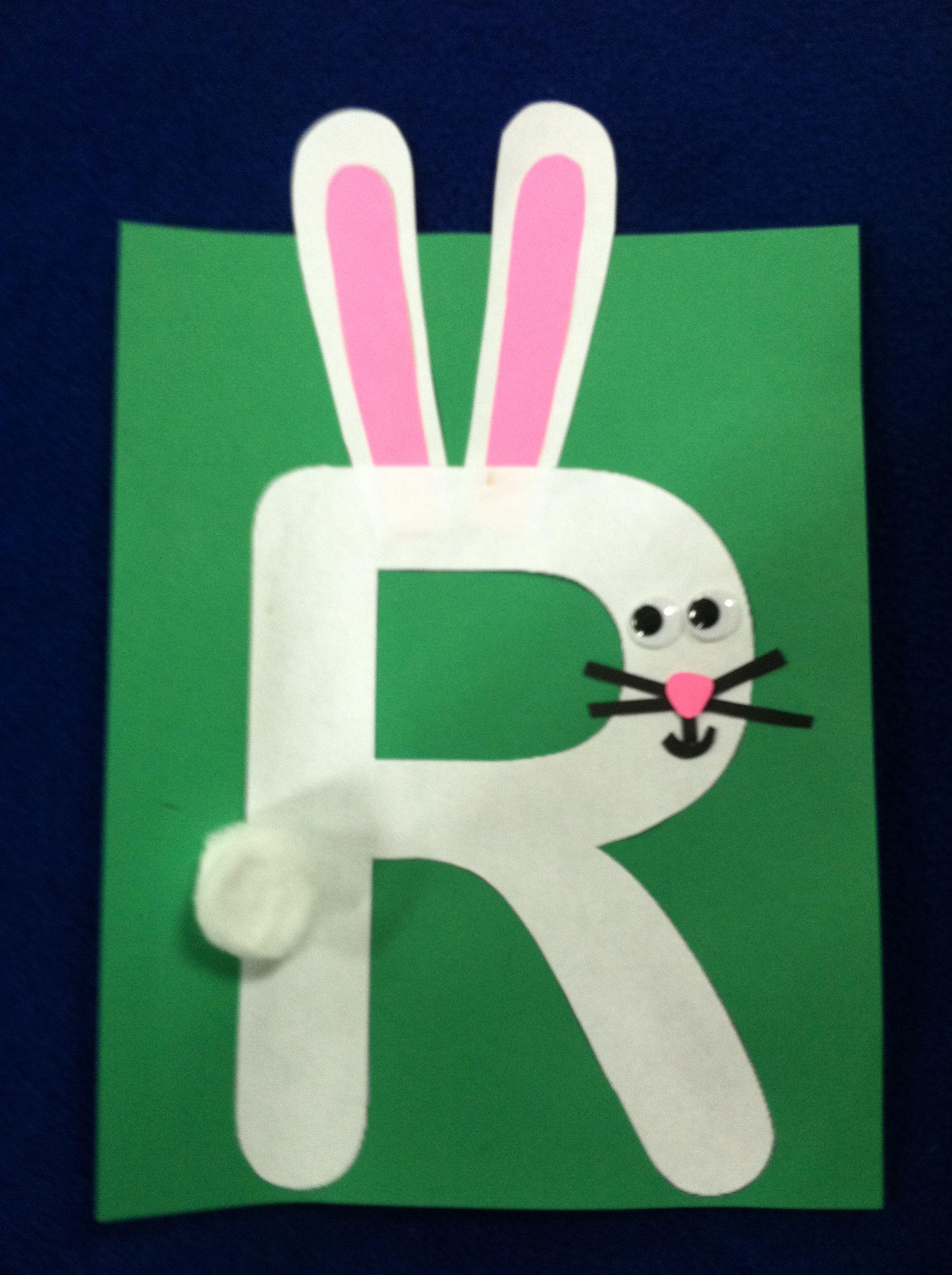 R is for rabbit | Kindergarten Adventures | Pinterest | Rabbit, Zoo ...