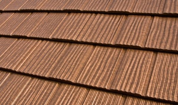 Copper Colored Metal Roofing Metal Roof Network Diy Home Info Metal Roofing Systems Metal Roof Metal Shake Roof