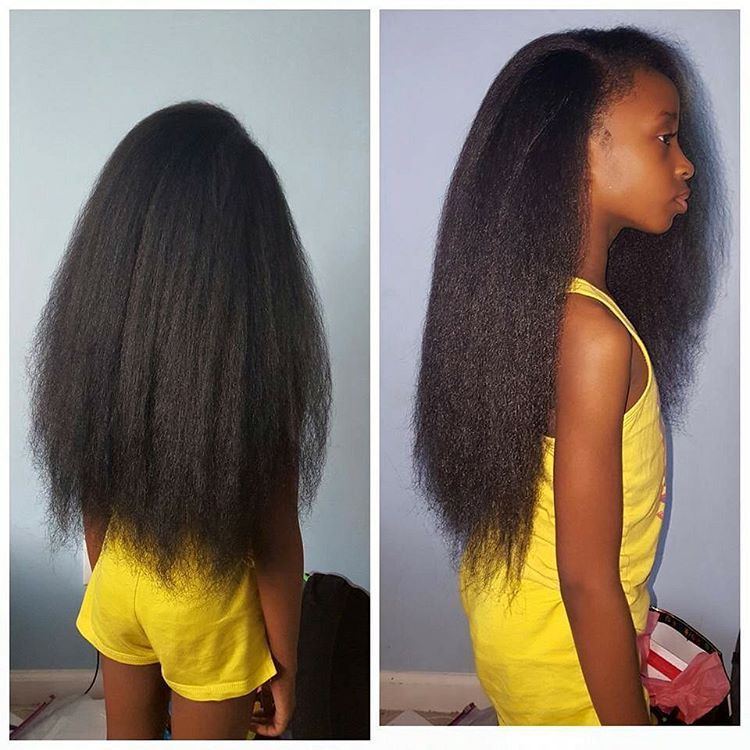 Natural Hair Straightened Frokids Pinterest Natural Hair