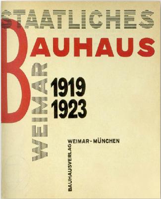 la portada de este catlogo de la bauhaus realizada por lzslo moholy
