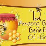 12 Amazing Beauty Benefits Of Honey #infographic ~ Visualistan