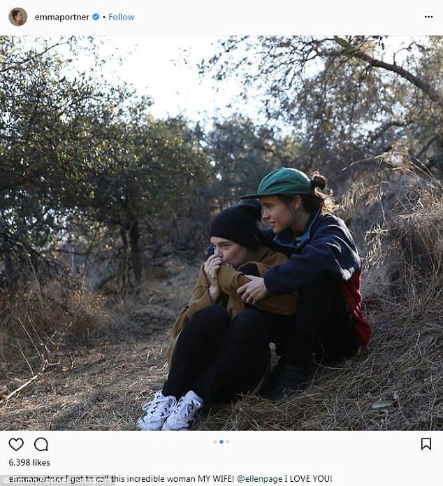 Ellen Page Reveals She Has Secretly Married Girlfriend Emma Portner Ellen Page Ellen Page Girlfriend Joe Jonas Married