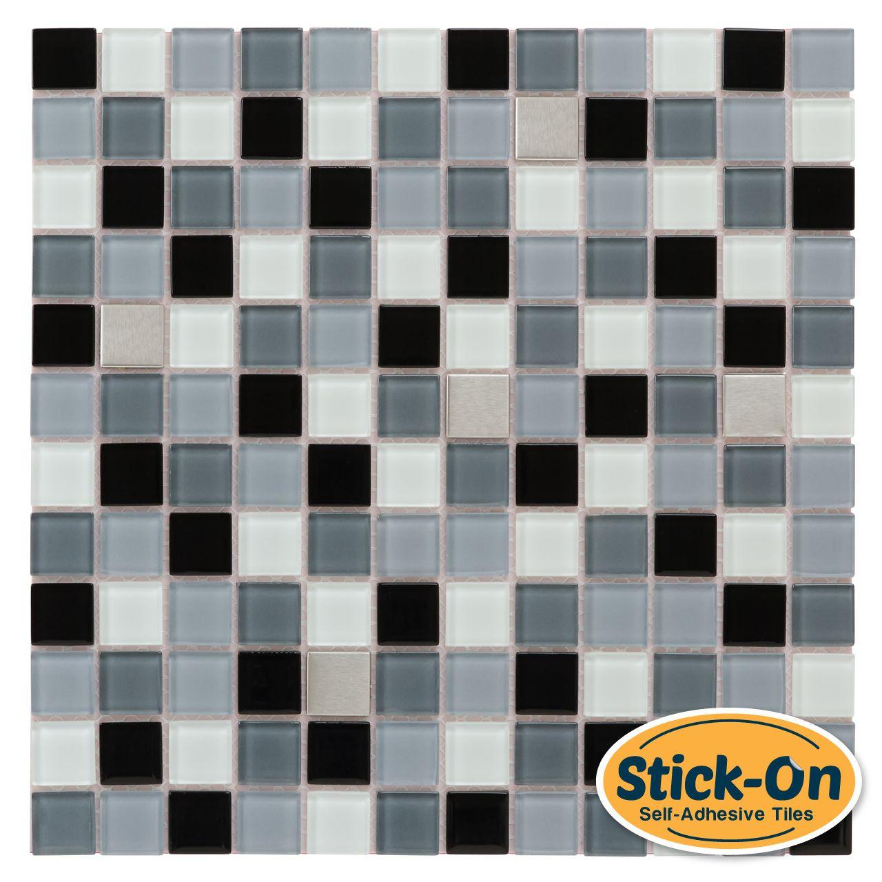 Mineral Tiles Peel Kitchen Stainless Steel Tile Diy Tile