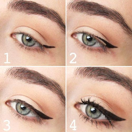 THE BEST WINGED EYELINER STYLES FOR YOUR EYE SHAPE -