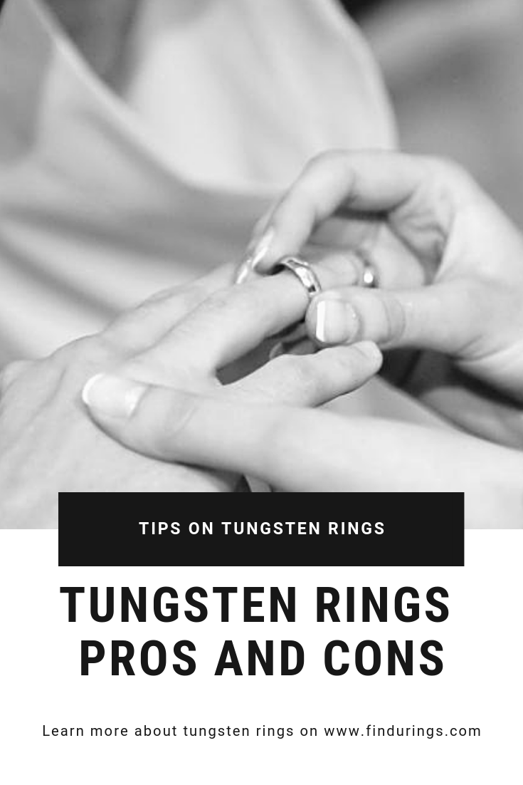 Tungsten Rings Pros And Cons Tungsten Ring Rings Tungsten Wedding Bands