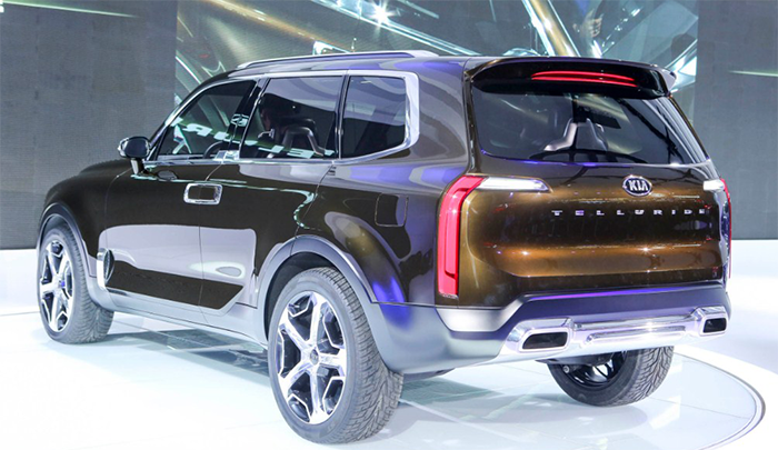 The 2020 Kia Telluride Goes Big Release Date And Price The Telluride Has Literally And Metaphorically Expanded With Its New Telluride Suv Cars Suv Vehicles