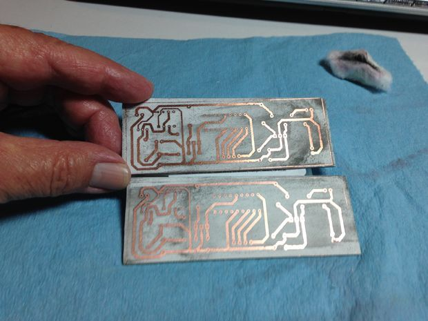 Hobby Electronic Make Your Own Pcb Printed Circuit Board