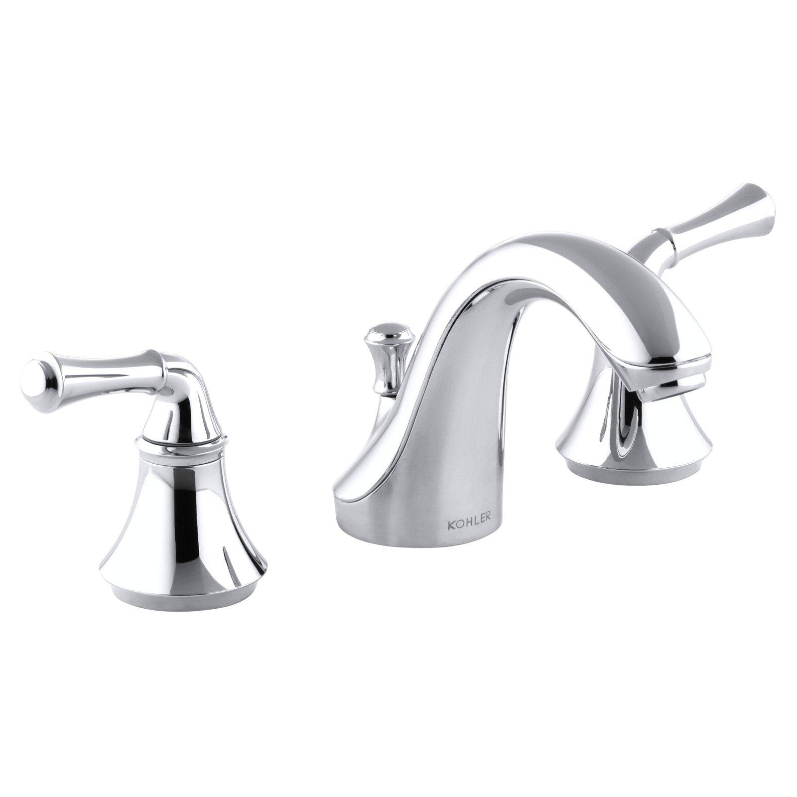 Kohler Forte Widespread Bathroom Sink Faucet Widespread Bathroom