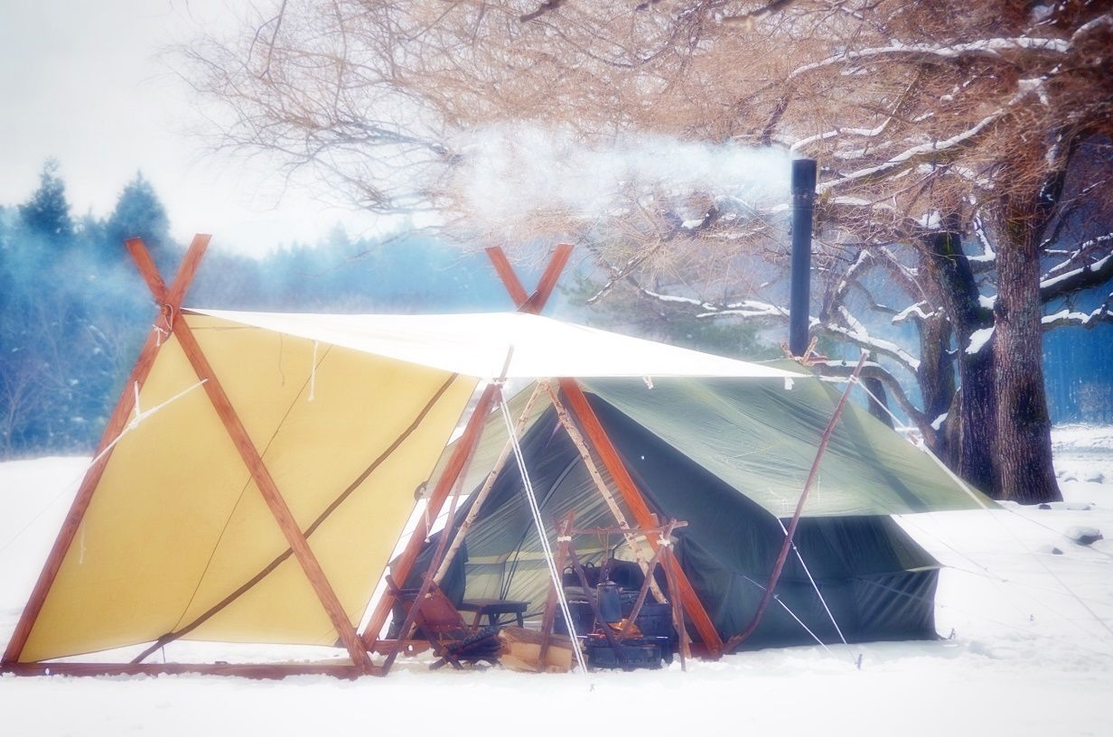 Snow Camp⛺   Snow camping, Outdoor gear, Camping