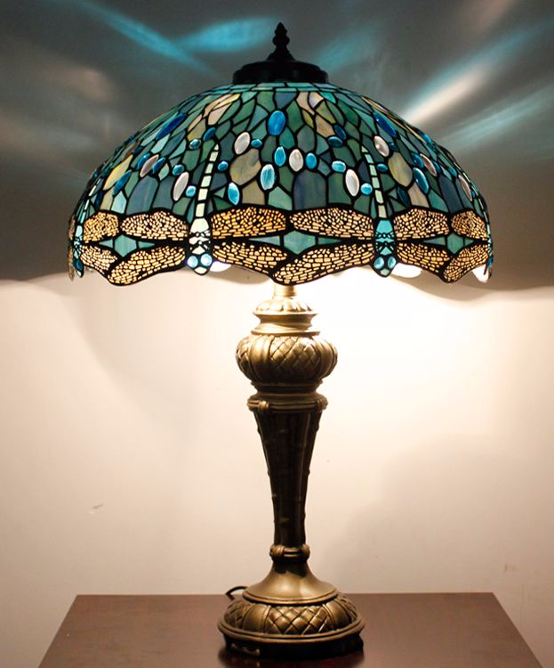 Tiffany Lamps Glass Art For The Home Tiffany Table Lamps