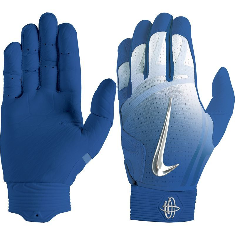 Nike Adult Huarache Elite Batting Gloves 2018, Blue