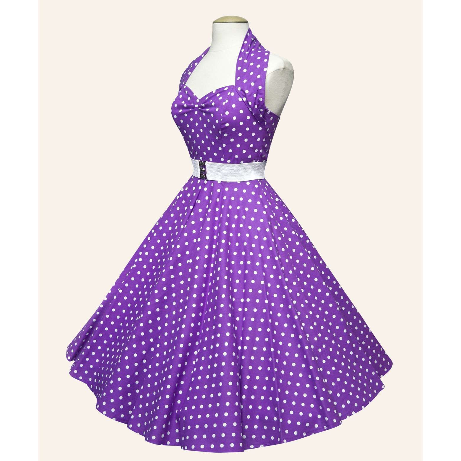 50's purple dress | Team GB - The Event | Pinterest | White belt ...