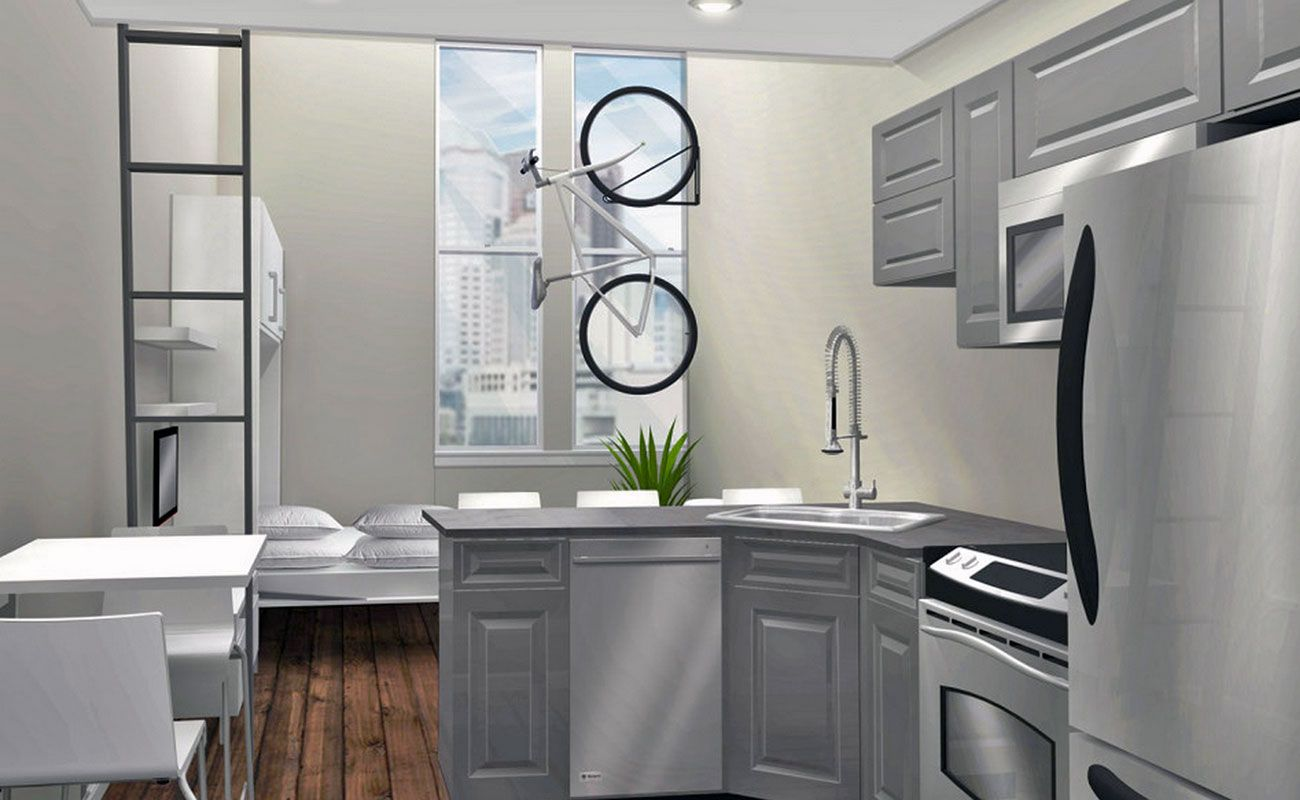 """More Details Emerge on Downtown """"Micro Living"""