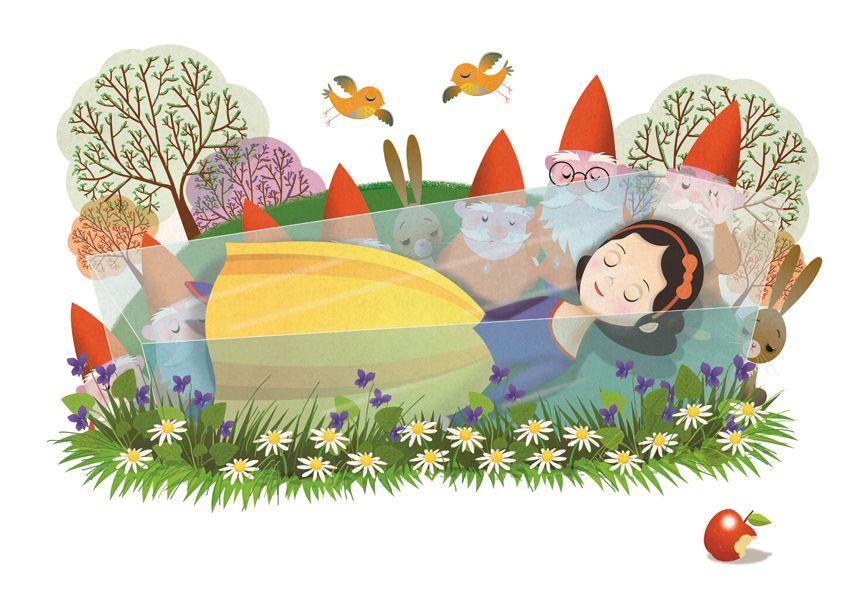 """Fairy Tale Mood : Photo via Tumblr """"Snow White"""" by Anna Nowocińska"""