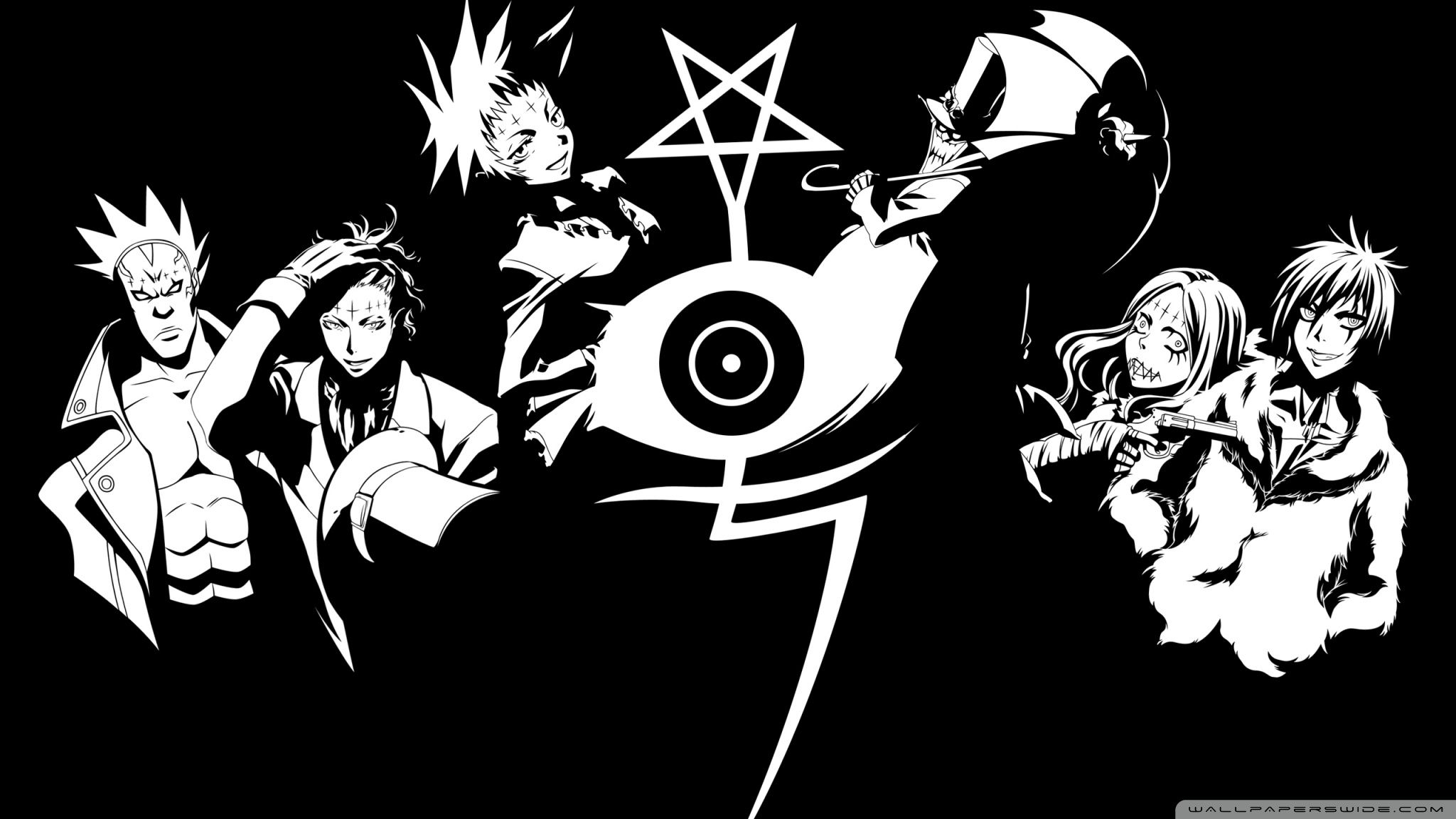 D Gray Man Hd Wallpapers And Backgrounds Anime Wallpaper D Gray