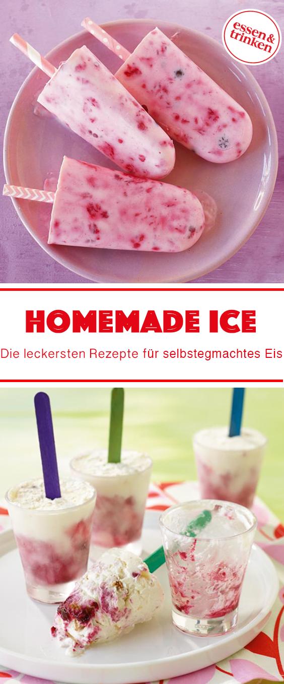 Rezepte für selbst gemachtes Eis