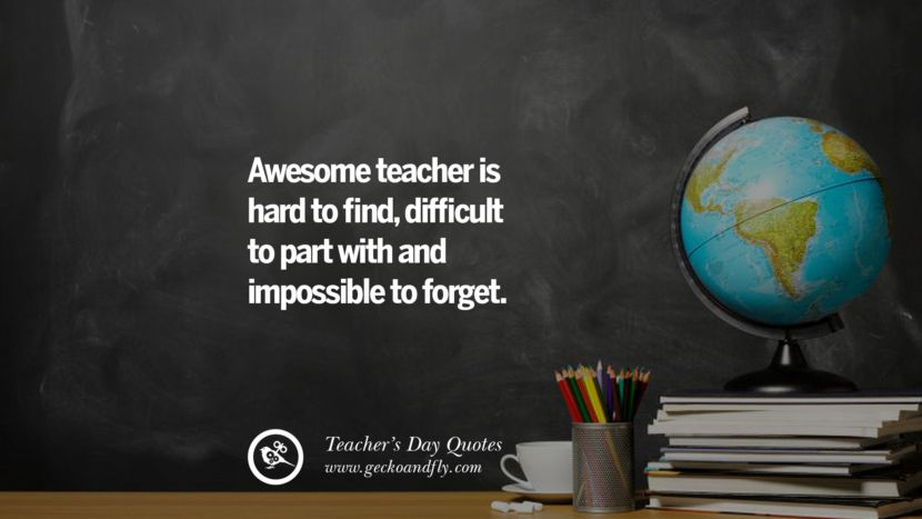 30 Happy Teachers' Day Quotes & Card Messages #teachersdaycard