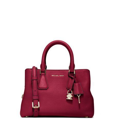 c3a1f44f1d87 Camille Small Leather Satchel | Michael Kors | Handbag Heaven ...